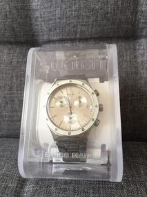 Relógio Swatch Ycs570g Potential Power Grey Dial Metal Brace