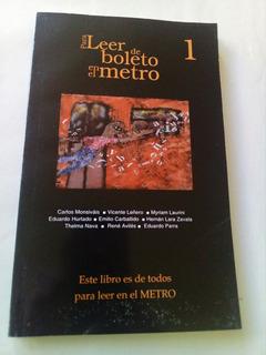 H1 Leer De Boleto En El Metro Vol 1- Varios- 2003