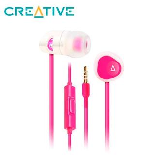 Audifono Con Microfono Creative Ma-200 Cle-r Pink