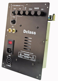 Kit Completo P/ Ativação De Caixas Multivias 150 Watts Rms