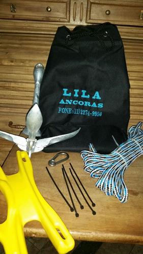 Kit Ancora Folding Jet Ski E Caiaque1,5 Kgs Galvanizada