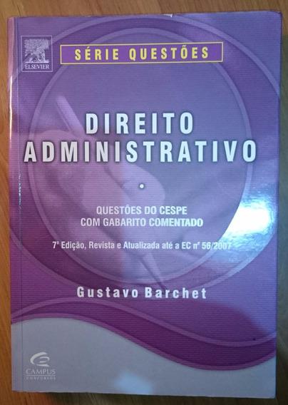 Direito Administrativo Gustavo Barchet 7 Edição