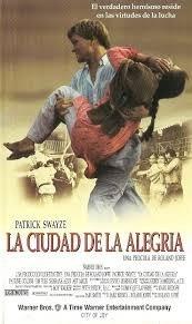 La Ciudad De La Alegria (1993) Patrick Swayze Vhs Original