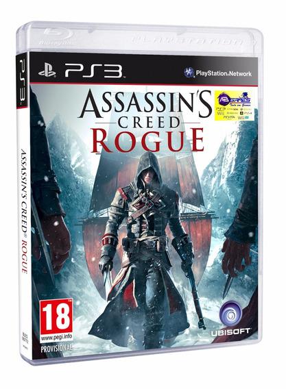 Assassins Creed Rogue Ps3 Original Novo Lacrado Ab Games