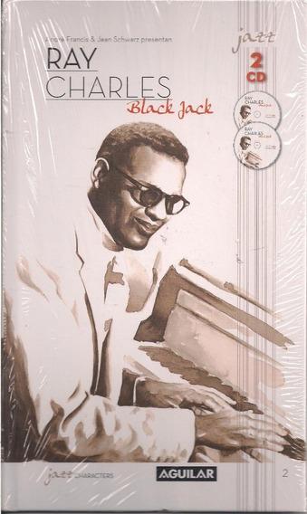 Black Jack Ray Charles - Col Aguilar Libro + 2 Cd´s Nuevo