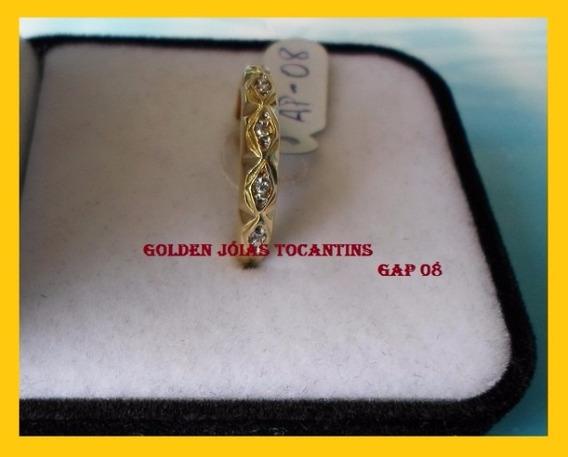 Aparador Folheado Ouro 18 K 750 Com 10 Camadas Gap 08