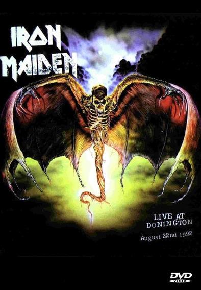 Dvd Iron Maiden - Live At Donnington 92