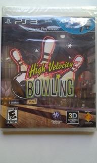 Ps3 Move High Velocity Bowling $299 Pesos Nuevo Mikegames