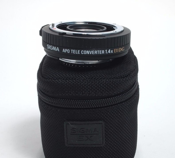 Sigma Apo Teleconversor 1.4x Ex Dg Nikon Auto Foco