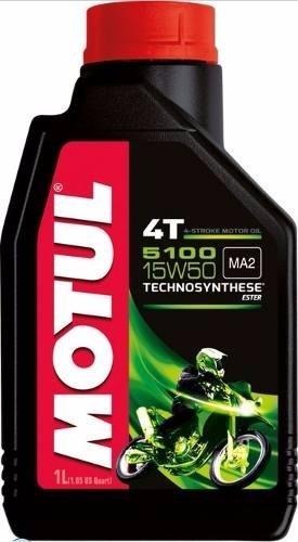 Oleo Motor Motul 5100 15w50 Moto 4t Bossoniautoparts
