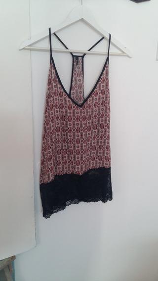 Camisola Mujer - Sin Mangas - Talle S - Nueva