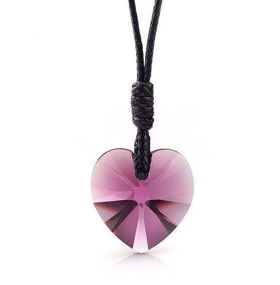 Swarovski Elements Oferta Collar Dije Corazon Cristal