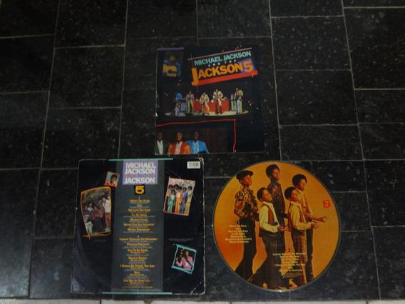 Michael Jackson/ The Jackson 5 Lp Pictory 5