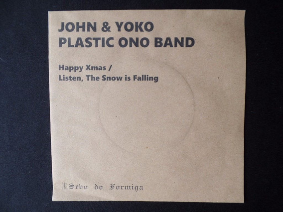John & Yoko - Plastic Ono Band - Happy Xmas - 1971 - Compact