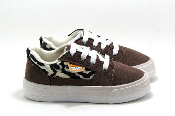 Zapatillas Niños Skate Gamuza New Tilers