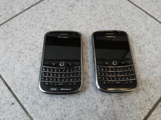 02 Celulares Blackberry 9000 Não Testados ( Usados )
