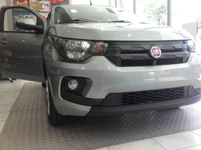 Fiat Mobi Easy Top 1.0 Nafta Gris 0km, Anticipo $60000 Af