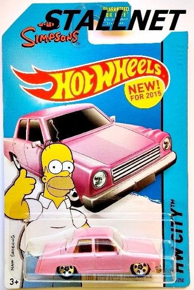 Hot Wheels The Simpsons Family Car Hw City #56 Frete Baixo