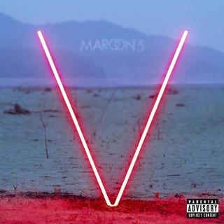 Maroon 5 V Vinilo Color Rojo Importado De 180 Gramos