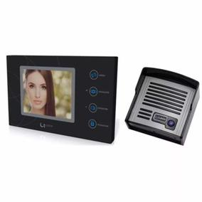 Video Porteiro Lider Touch 5 Ld-5100 Preto (2 Telas)