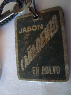 Jabon Cañadenzo Rosario Llavero Antiguo Giampietro Propagand