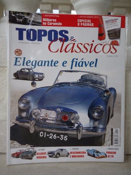 Topos & Classicos N°114 Mg Jensen Motorfestival Miniaturas