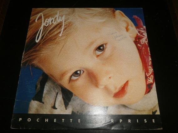 Lp Jordy - Pochette Surprise, Disco Vinil C/ Encarte, 1992