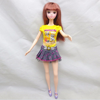 Roupa Saia Blusinha Boneca Blythe Pullip Barbie