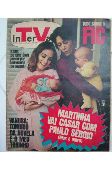 Revista Intervalo Nº 406 Martinha Vai Casar Com Paulo Sergio