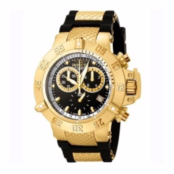 Invicta Subaqua Noma Iii Collection 5514 Gold 18k Original