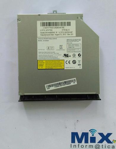 Imagem 1 de 3 de Gravadora Dvd Notebook Lenovo Ideapad G480 G485