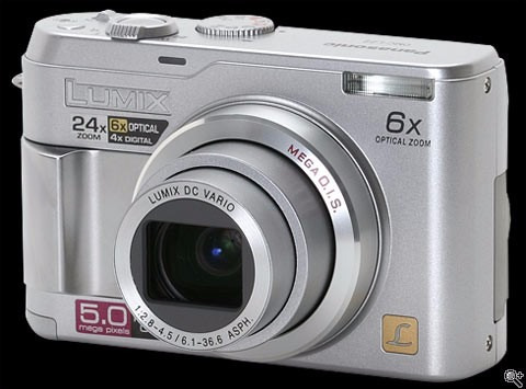 Camara Digital Panasonic Lumix Zoom Optico 6x