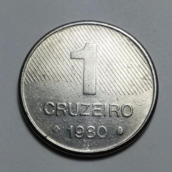 Moeda Brasileira 1 Cruzeiro 1980 R106