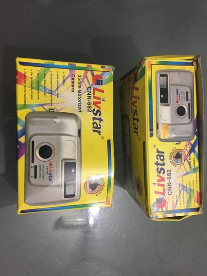 Câmeras Antigas Lote Com 3 Novas Na Caixa