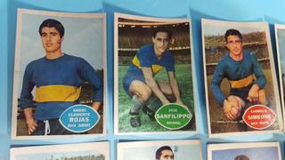 10 Tarjetones Figuritas Boca Campeon