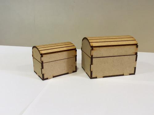30 Cofres Mini Souvenir Más Un Cofre Centro Grande