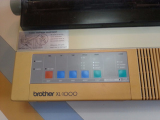 Impresora Brother Xl-1000 Matrix De Punto