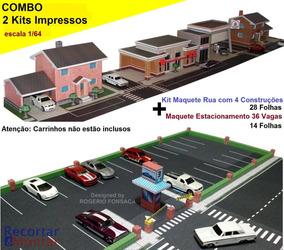 Combo Maquete Cidade Para Montar + Estacionamento