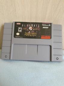 Cartucho Mortal Kombat 3 Ultimate P/super Nintendo Novo Snes