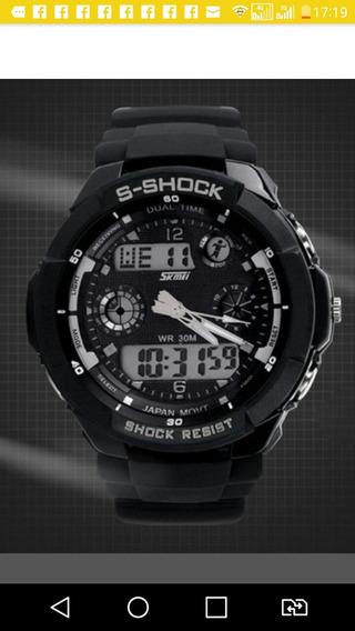Relogio S-shock Skmei Digital E Analogico