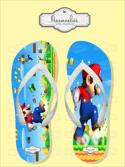 Chinelo Big Super Mario Bros