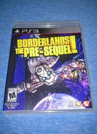 Borderlands The Pre-sequel! Ps3 M. Fisica Frete R$10