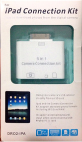 Ipad Connection Kit Dr02-ipa - Frete Grátis