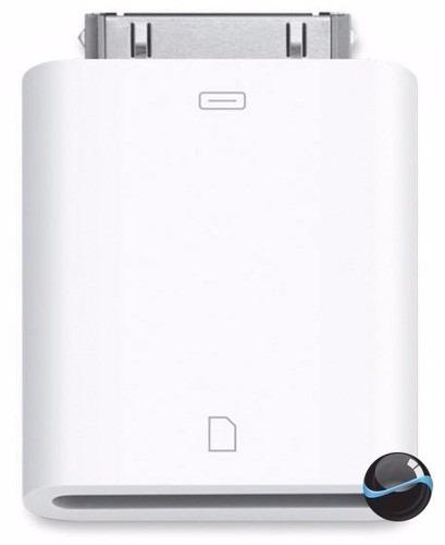 Adaptador Cartão De Memória Sd Sdhc Para iPad Connection