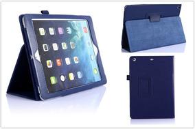 Capa Case Apple Ipad 2 3 4 Luxo Executiva - Azul Marinho