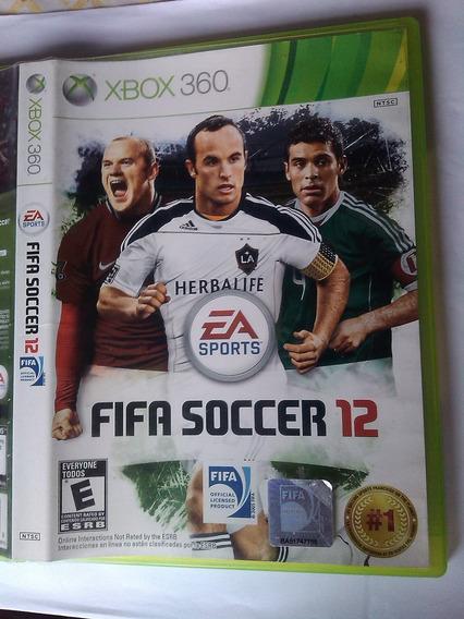 Fifa 12 Xbox 360 - Mídia Física Original