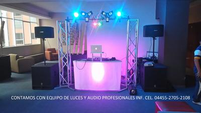 Renta Dj Luz Y Sonido Batucada Karaoke Taquizas Y Meseros