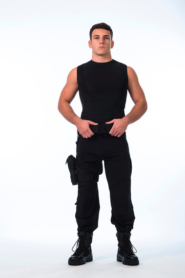 Remera Spy Cover Cop Sobaquera Oculta Armamento Sin Manga