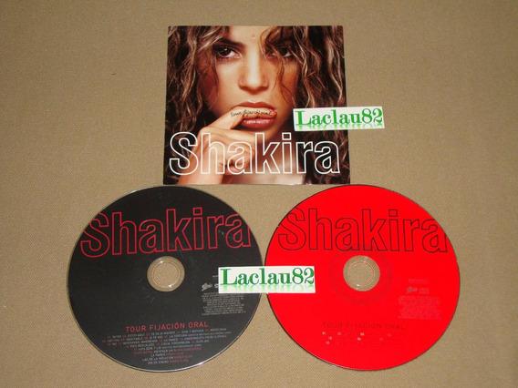 Shakira Tour Fijacion Oral 2007 Sony Cd + Dvd