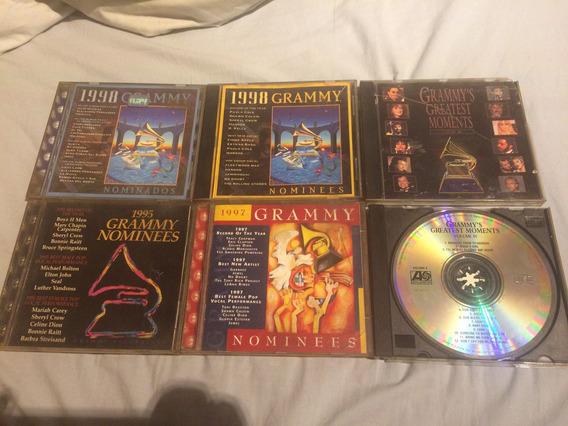 Lote De 6 Cds Grammy Nominees, Nominados Y Greatest Moments